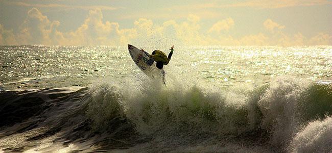 Report sa surf kampa na Kanarima