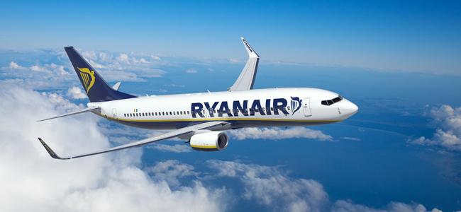 Ryanair let na Fuerteventuru.
