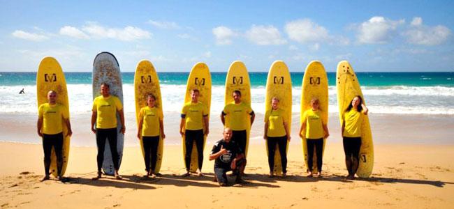 Surf škola Kanari, Fuerteventura.