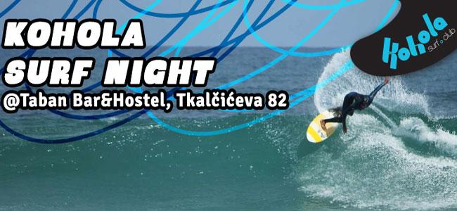 Kohola surf night Taban