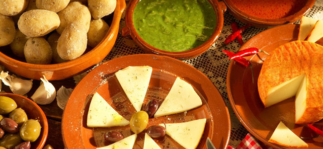 Tradicionalna hrana na Fuerteventuri.