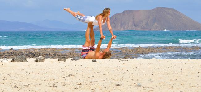 Yoga na plazi